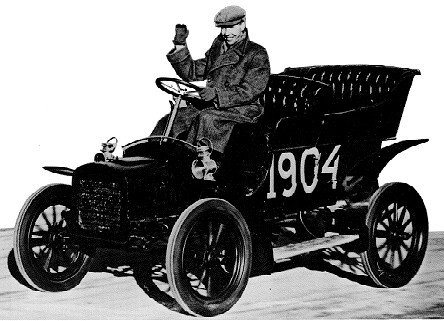 Ford Modell-C in Schweden 1904