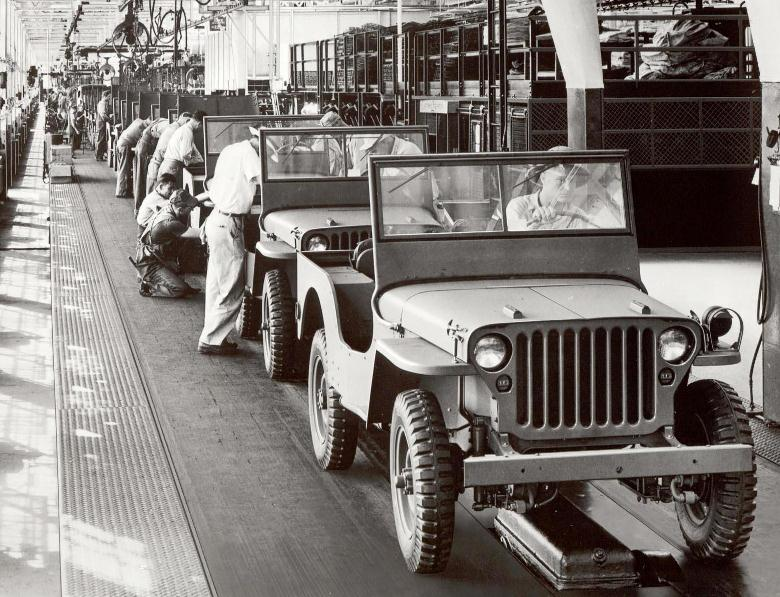 Ford GPW Jeep Produktion in Dearborn